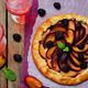 Plum blackberry galette - PhotoDune Item for Sale