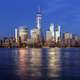 Manhattan at dusk. - PhotoDune Item for Sale