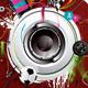 Loudspeaker Painted on the Wall, Graffiti - GraphicRiver Item for Sale
