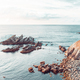 Landscape of a rocky cliff to the sea - PhotoDune Item for Sale