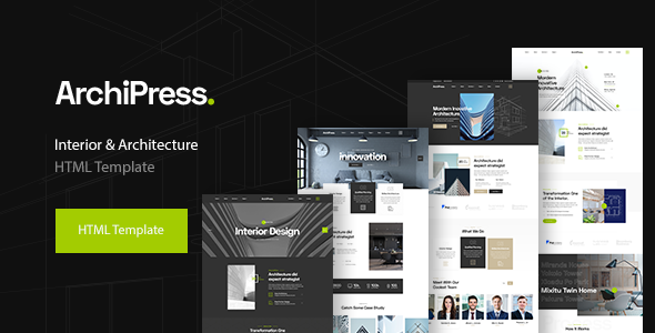 ArchiPress - Architecture, Agency & Interior Design
