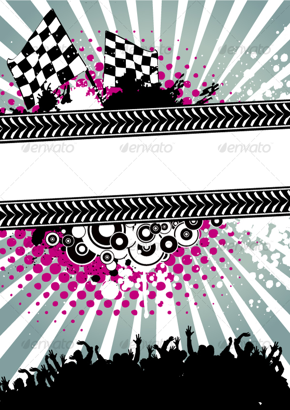 Poster for racing - Backgrounds Business