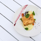 Salmon dish with asparagus and potato puree - PhotoDune Item for Sale