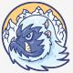 Blue Yeti Cartoon Logo