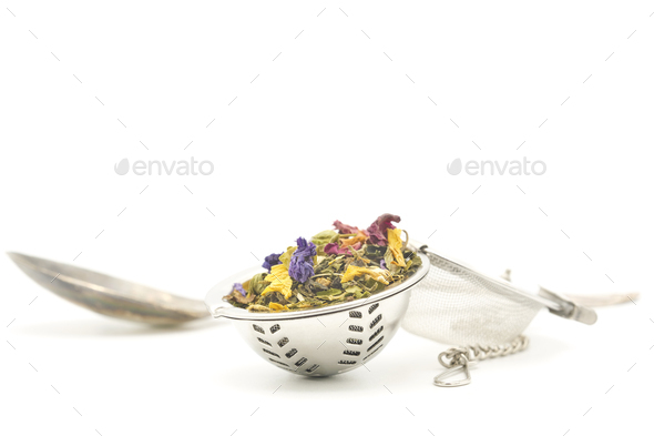 Herb Tea Infuser - Stock Photo - Images