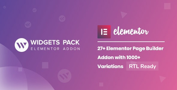 WidgetsPack - All in One Pack for Elementor Page Builder