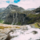 Trollstigen, Andalsnes, Norway. Stigfossen Waterfall Near Famous Mountain Road Trollstigen - PhotoDune Item for Sale