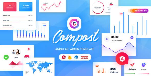 Compost - Angular 10 Admin Template