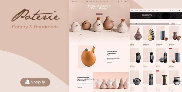 Poterie – Handmade Ceramic Shopify Theme