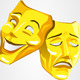 Happy and Sad Mask - GraphicRiver Item for Sale