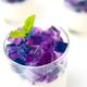 Hydrangea flower jelly panna cotta - PhotoDune Item for Sale