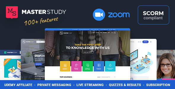 Wonderful Education WordPress Theme - Masterstudy