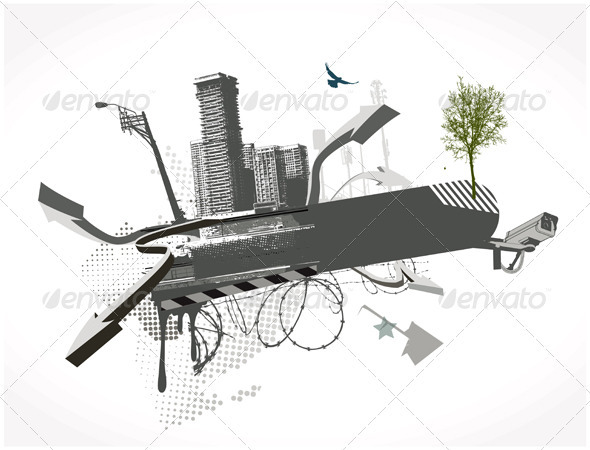 Urban Background - Conceptual Vectors