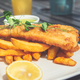 Fish and Chips with peas - PhotoDune Item for Sale