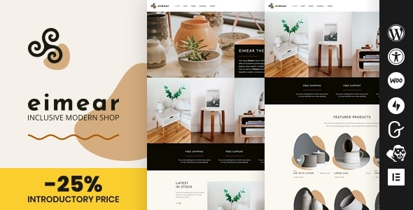 Eimear - Inclusive WooCommerce WordPress Theme