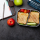 Healthy lunch box with sandwich and vegetables - PhotoDune Item for Sale