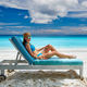 Woman on beach at Seychelles - PhotoDune Item for Sale