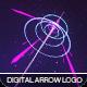 Digital Arrow Logo - VideoHive Item for Sale