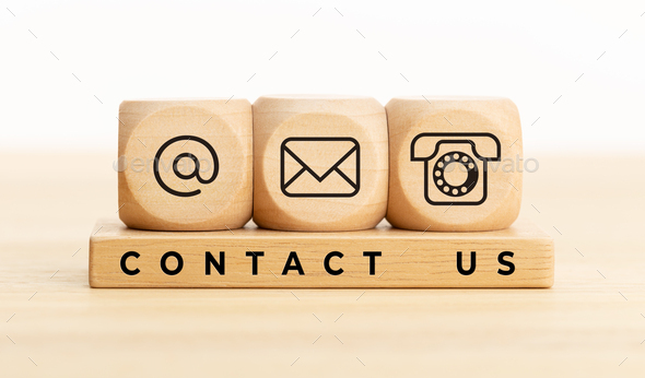 Contact us concept - Stock Photo - Images