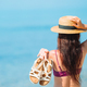 Young beautiful woman having fun on tropical seashore - PhotoDune Item for Sale