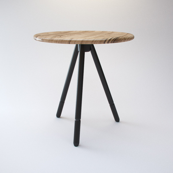 Potamus Table - 3DOcean Item for Sale
