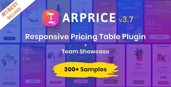 ARPrice - WordPress Pricing Table Plugin Nulled