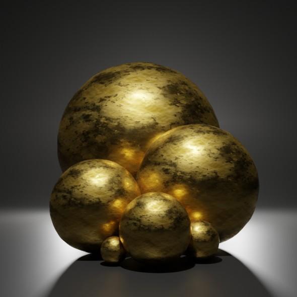 metal gold 1