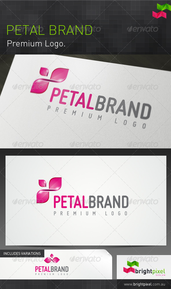 Petal Brand - Nature Logo Templates