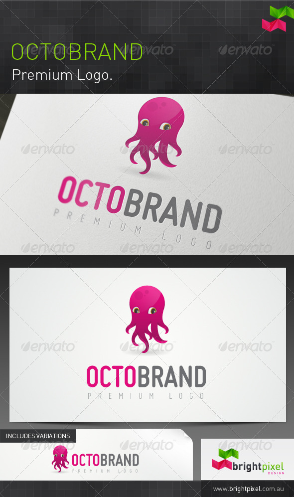 Octobrand - Animals Logo Templates
