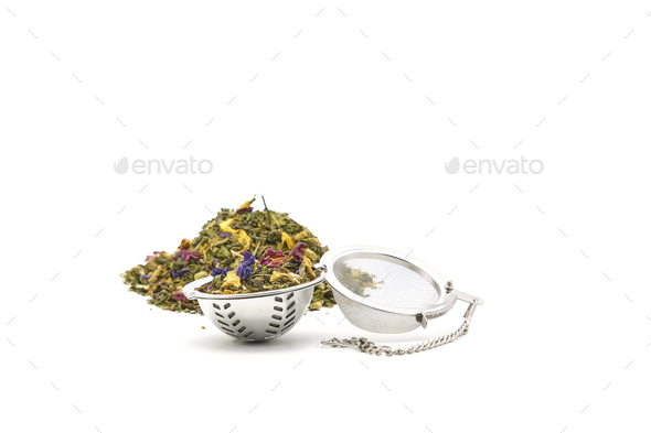 Loose Tea in a Ball - Stock Photo - Images