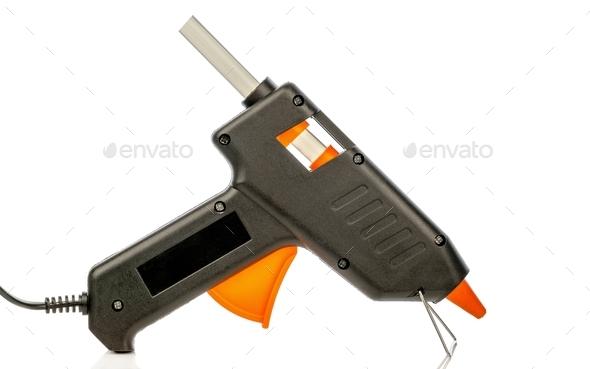 Hot Glue Pistol - Stock Photo - Images