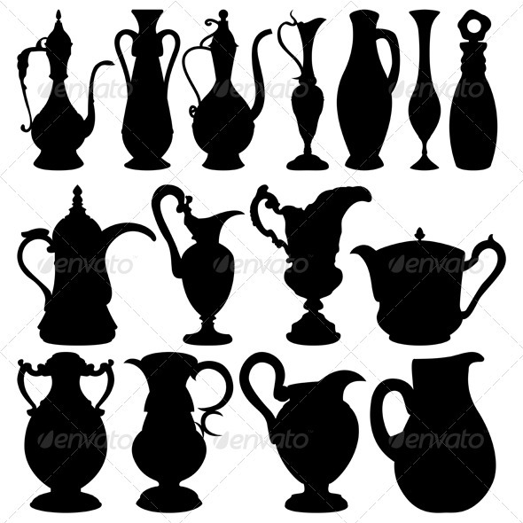 Jugs collection - Man-made Objects Objects