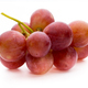 Ripe red grape isolated on white. - PhotoDune Item for Sale
