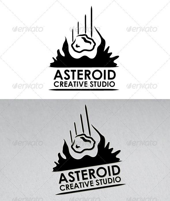Asteroid Creative Studio Logo - Symbols Logo Templates