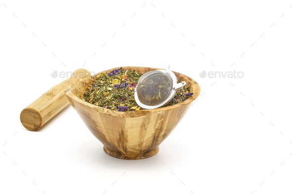 Herbal Tea Blend - Stock Photo - Images