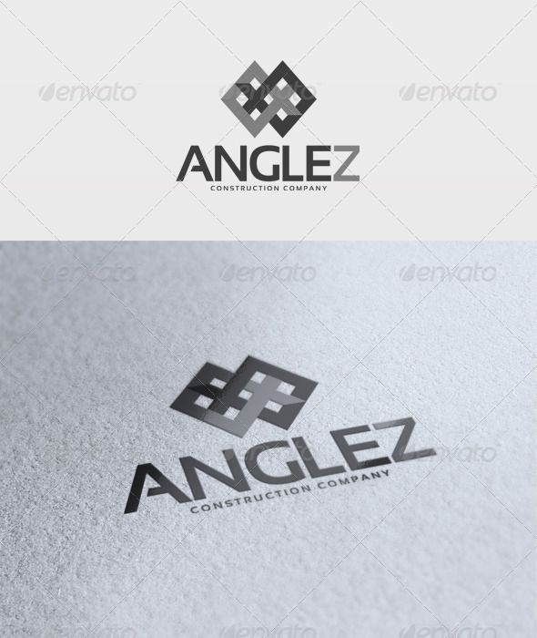 Angle Zoom Logo - Vector Abstract