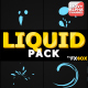 Abstract Liquid Shapes | Motion Graphics - VideoHive Item for Sale