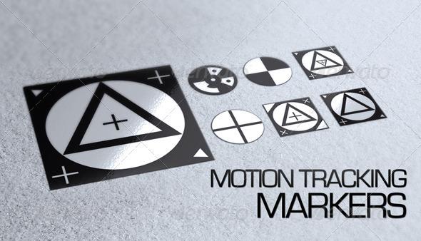 7 Motion Tracking Markers - Decorative Symbols Decorative