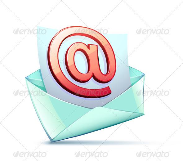 E-mail symbol - Communications Technology