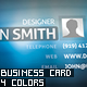 4 Colors Business Card - GraphicRiver Item for Sale