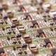 Closeup small microcircuits lie next to each other - PhotoDune Item for Sale