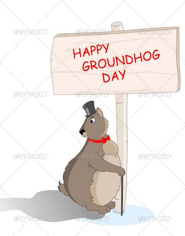 Groundhog Saw his Shadow - Miscellaneous Seasons/Holidays