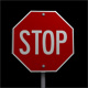 Animated Stop Sign - VideoHive Item for Sale