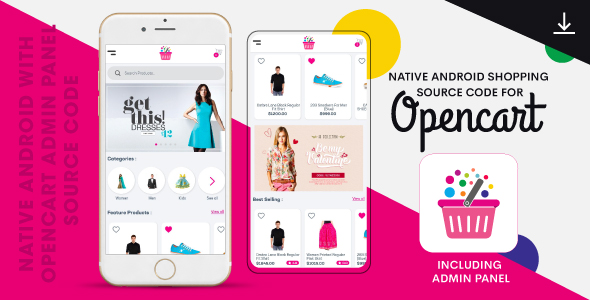 i.am.retailer - Native Android Shopping App powered by Opencart