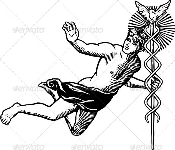 Greek God Hermes - People Characters