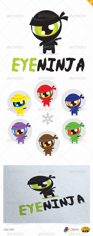 Eye Ninja Logo - Humans Logo Templates