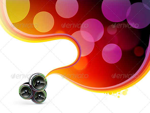 Glowing party background  - Backgrounds Decorative