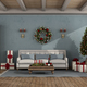 Retro living room with Christmas decoration - PhotoDune Item for Sale