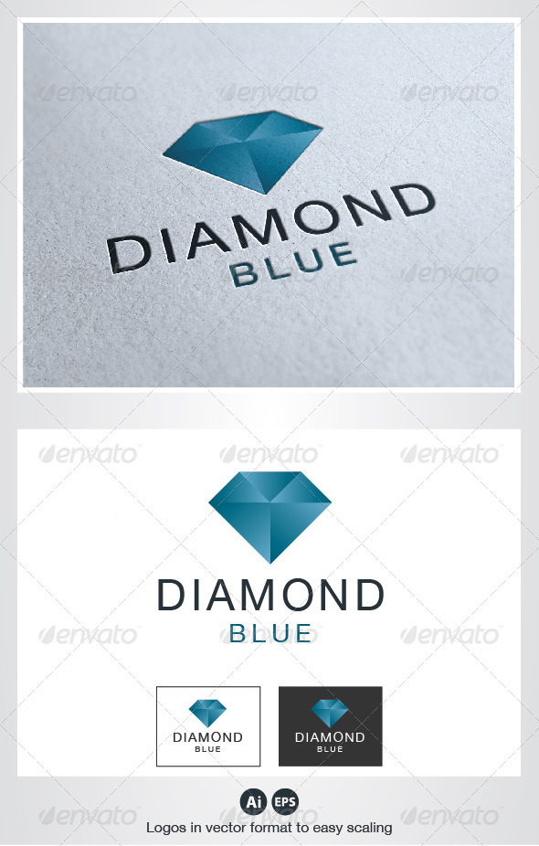 Diamond Logo - Objects Logo Templates