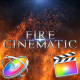 Fire Cinematic Titles - Apple Motion - VideoHive Item for Sale